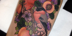 Aves, Flores y Frutas by Cree Mccahill