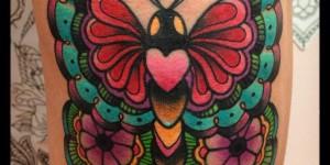 Mariposa Corazón by Tilly Dee