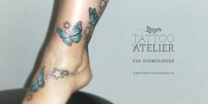 Mariposas, Estrellas y Puntos by Eva Schmidinger