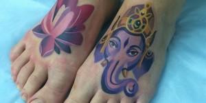 Flor de Loto y Ganesha by Sasha Unisex