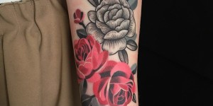 Flores by Sasha Unisex y Sashatattooing