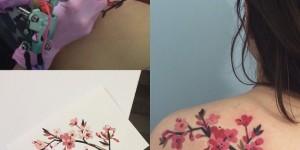 Flores de Cerezo by Sasha Unisex