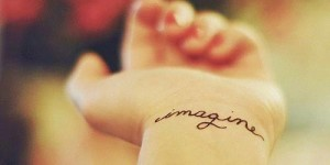 Frase: Imagine de John Lennon