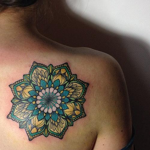 Mandala Plantas Tatuajes Para Mujeres