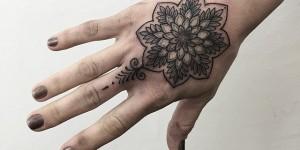 Mandala Flor by Sashatattooing