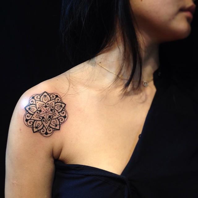 Mandala By Pedro Contessoto  Tatuajes Para Mujeres