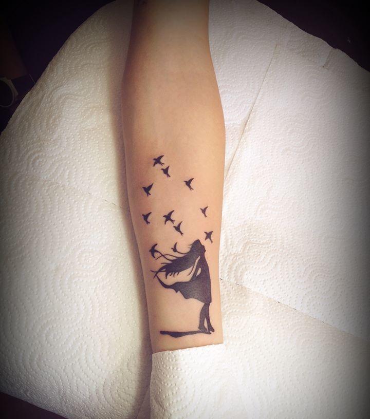 Ni&241a Y Aves By David Moreira  Tatuajes Para Mujeres