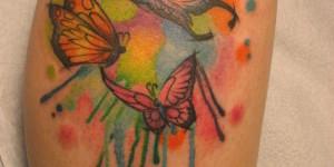 Mariposas estilo Acuarelas