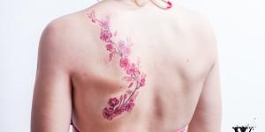 Flores de Cerezo by Would tattooart studio