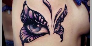 Mariposa con Ojos