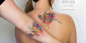Mariposas estilo Acuarelas by Julia Dumps