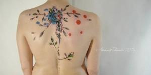 Flor estilo Acuarelas by Aleksey Platunov