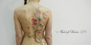 Flores estilo Acuarelas by Aleksey Platunov