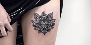 Flor de Loto estilo Mandala