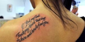 Frase «Oh Señor mi Dios, enseña a mi corazón este día, donde y como encontrarte»