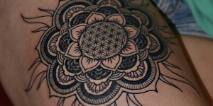 Mandala Sol y Flor