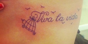 Frase Viva la vida y Aves