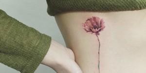 Flor por Hongdam Tattoo