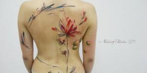 Flores estilo Acuarelas por Aleksey Platunov