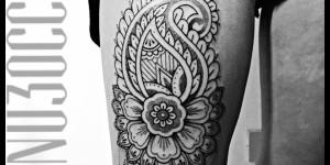 Mandala estilo Paisley por Manu Terzo Occhio