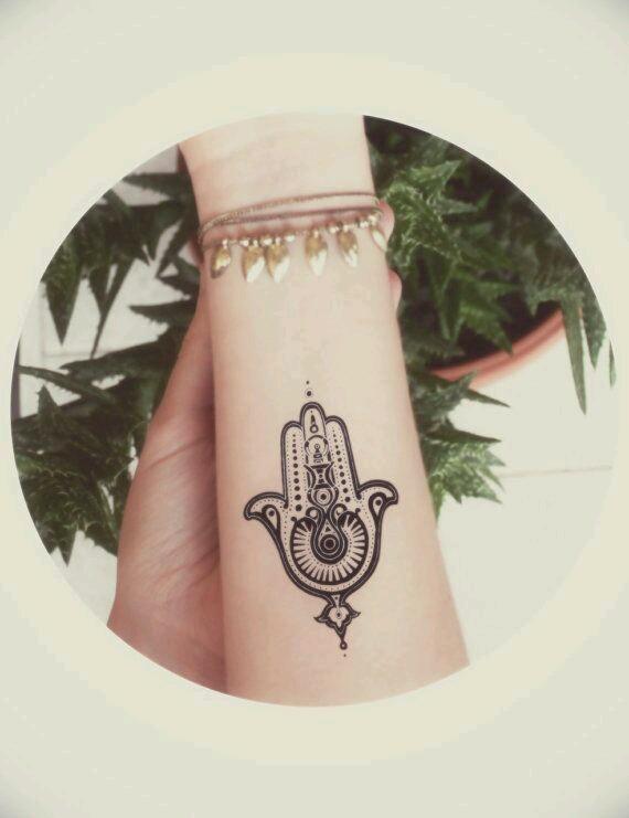 Mano Hamsa Tatuajes Para Mujeres