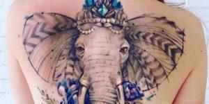 Elefante por Pis Saro
