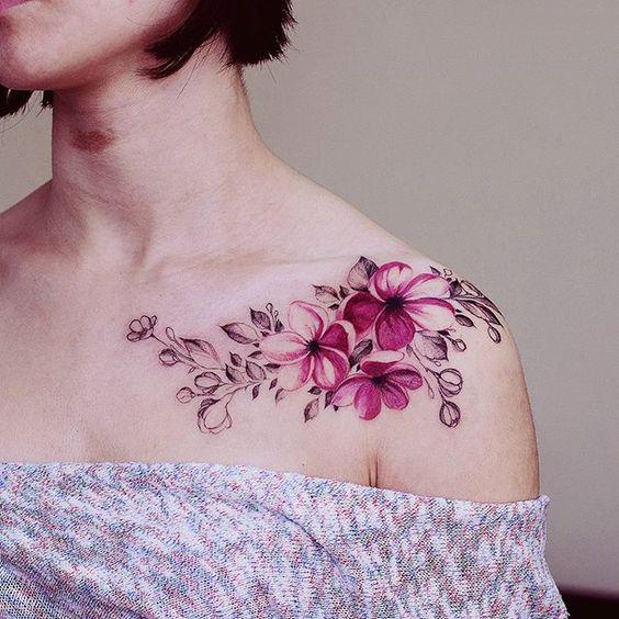 Flores Estilo Enredadera Por Diana Severinenko Tatuajes Para Mujeres