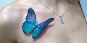 Mariposa estilo 3D