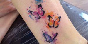 Mariposas estilo Acuarelas por Javi Wolf