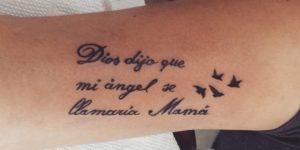 Frase: Dios me dijo que mi ángel se llamaría Mamá