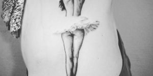 Bailarina en tutú