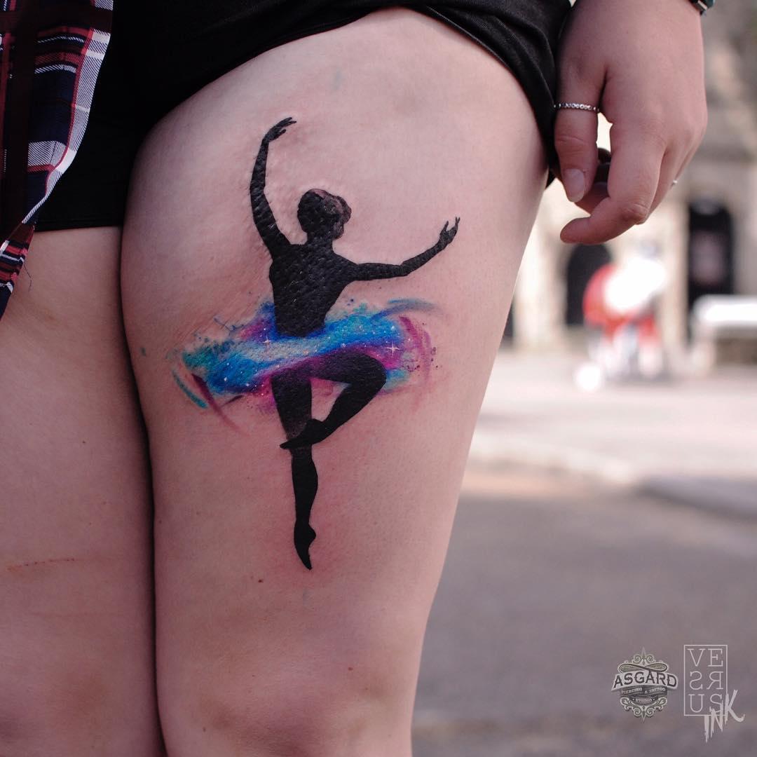 muslo  Tatuajes para Mujeres