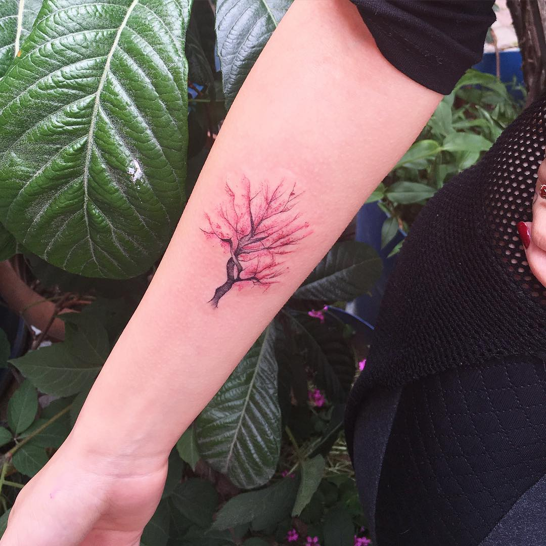 árbol Por Fatih Odabaş Tatuajes Para Mujeres
