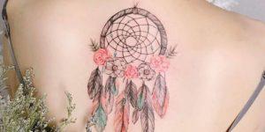 Atrapasueños con plumas