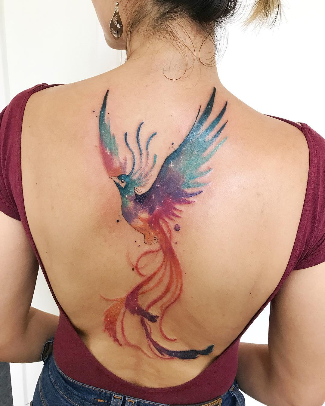 Ave Fénix Tatuajes Para Mujeres