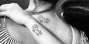 Elefante y Nombre Madre e Hija