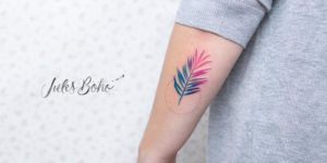 Hoja de colores by Jules Boho