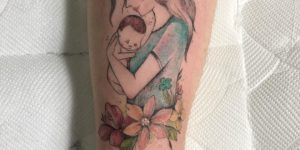 Amor de madre e hijo