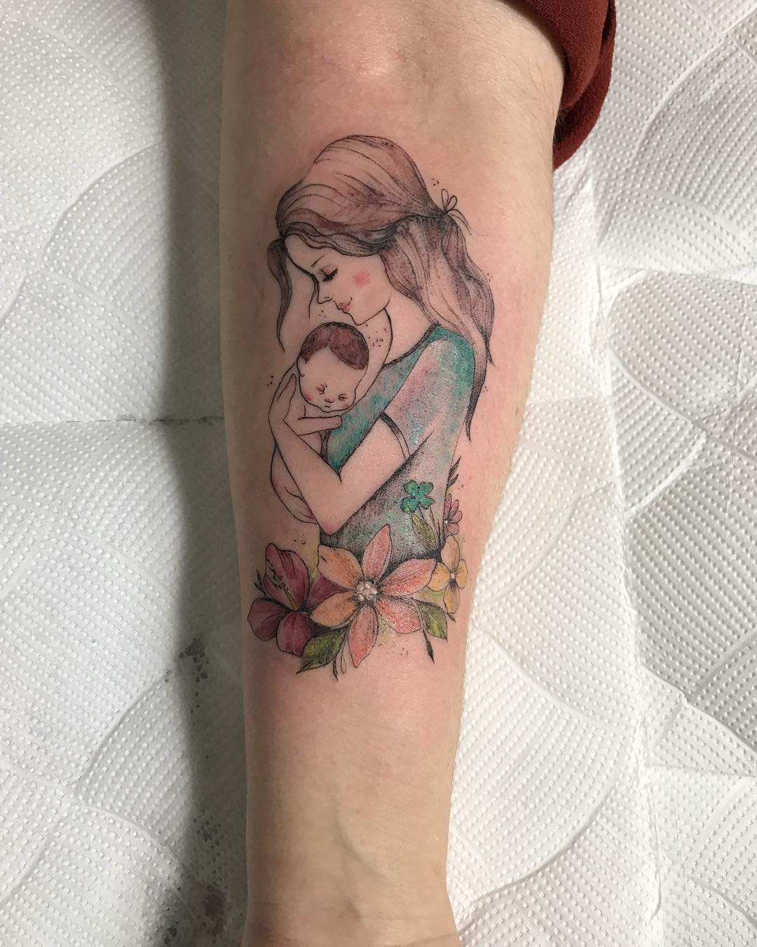 Amor De Madre E Hijo Tatuajes Para Mujeres