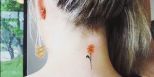 Flor naranja por Yasmin Coiado