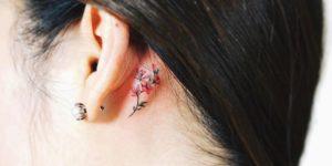 Flor pequeña por Nando Tattoo