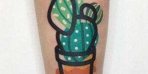 Cactus estilo Acuarelas