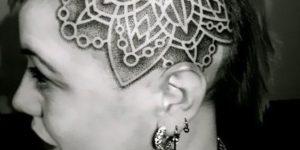 Mandala en la cabeza