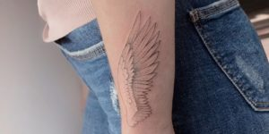Ala por Darylis Tattoo