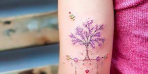 Árbol de flores de cerezo por Ana Abrahão