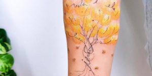 Árbol de la Vida con Nombres: Lucas Alice por Ana Abrahão