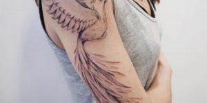 Ave Fénix por Darylis Tattoo