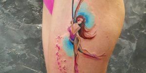 Bailarina de caño por Simona Blanar