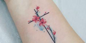 Cruz y flores por Jacke Michaelsen