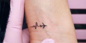 Electrocardiograma y Avión
